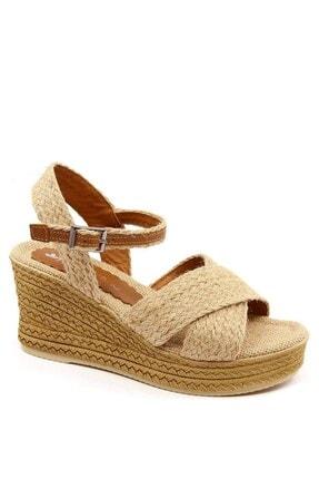 Ccway Kadın Hasır Sandalet 1