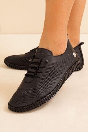 Mammamia Kadın Hakiki Deri Siyah Ayakkabı • A212ydyl0021 1