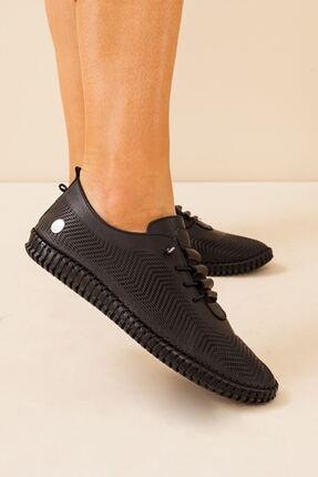 Mammamia Kadın Hakiki Deri Siyah Ayakkabı • A212ydyl0021 2