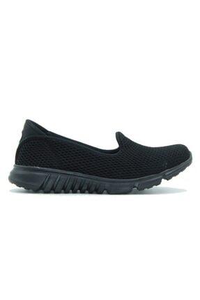 DİVAMOD Kadın Siyah Günlük Ayakkabı 2