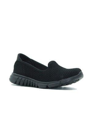DİVAMOD Kadın Siyah Günlük Ayakkabı 3