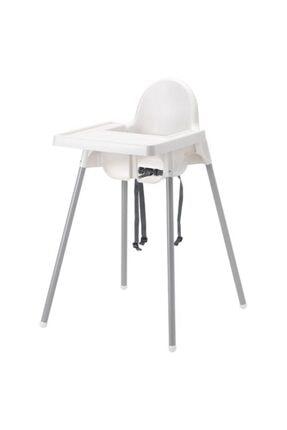 Unisex Beyaz Antilop Tepsili Mama Sandalyesi DRK29067293