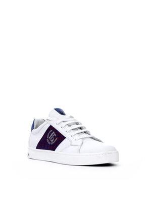 Roberto Botticelli Erkek Beyaz Deri Sneaker 1
