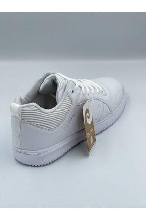Pierre Cardin Beyaz Cilt Bilekli Spor Ayakkabı 4