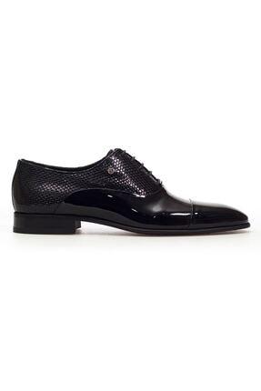 MARCOMEN Siyah Rugan Hakiki Deri Bağcıklı Erkek Klasik Ayakkabı • A20eymcm0002 1