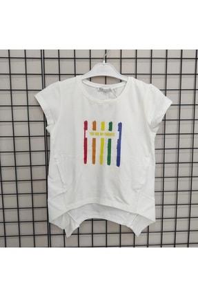 NK Reli Şeritli T-shirt 0