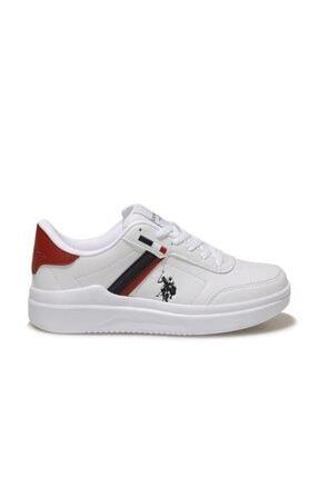 US Polo Assn BERKELEY WMN Beyaz Kadın Sneaker Ayakkabı 100604573 1