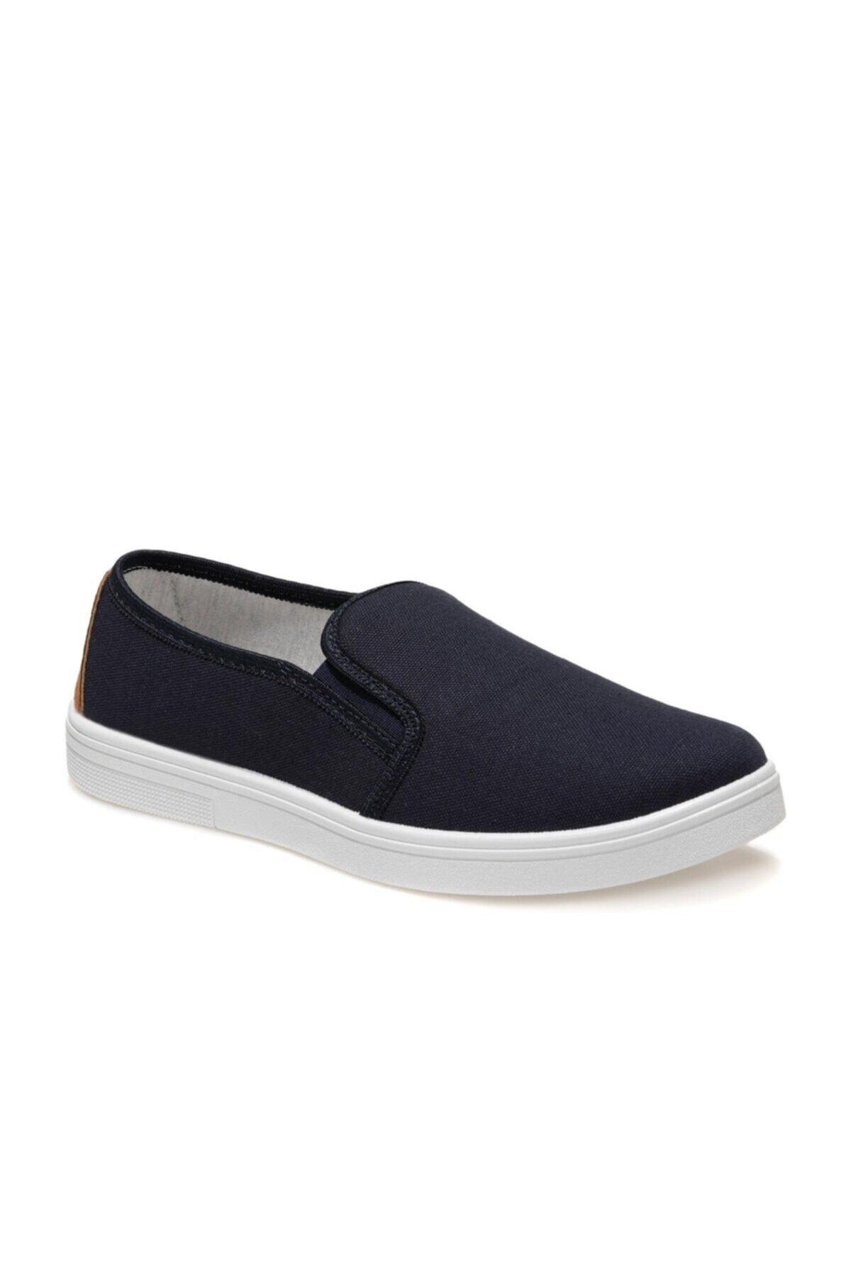 356735.M1FX Lacivert Erkek Slip On Ayakkabı 100936281