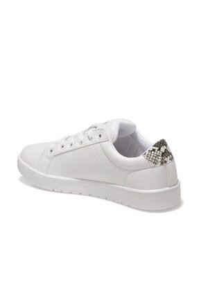 Lumberjack KAMILLA 1FX Beyaz Kadın Havuz Taban Sneaker 100911268 2