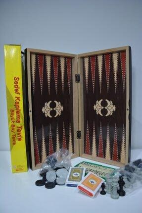 Tavla satranç dama domino kağıt 5 Li BAKTUG8140