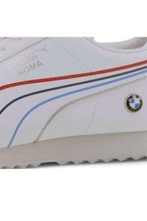 Puma Bmw Mms Roma White- White Erkek Giyim Günlük Ayakkabı 2