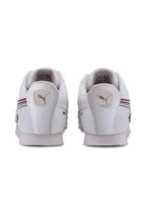 Puma Bmw Mms Roma White- White Erkek Giyim Günlük Ayakkabı 3
