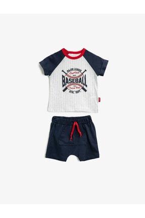 Koton Erkek Bebek Lacivert Bebek Takımları 1YNB14485OK 0