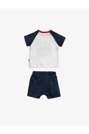 Koton Erkek Bebek Lacivert Bebek Takımları 1YNB14485OK 1