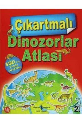 İş Bankası Kültür Yayınları Çıkartmalı Dinozorlar Atlası 0