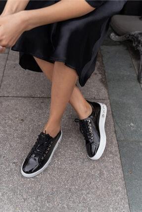 ANGELİNA JONES Gassama Siyah Sneaker Kadın Ayakkabi 1