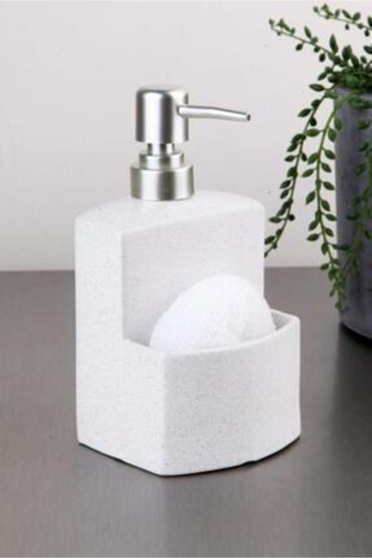 Süngerlikli Sıvı Sabunluk Deterjanlık
