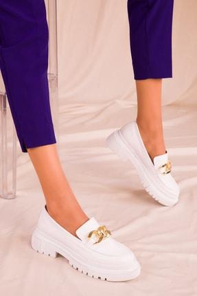 Soho Exclusive Beyaz Kadın Casual Ayakkabı 15993 1