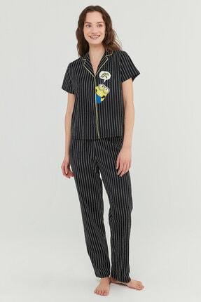 Penti Siyah Pijama Takımı 1