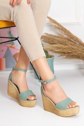 derithy Dolgu Topuklu Ayakkabı 0