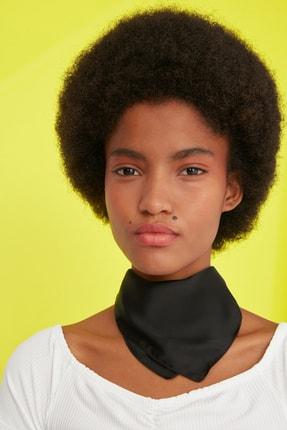 TRENDYOLMİLLA Siyah-Çok Renkli Desenli 2'li Paket Fular TWOSS21FU0013 1