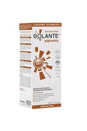 Solante Pigmenta Spf 50+ Sun Care Lotion  Koyu Renkli Lekelere Karşı 150 ml 0