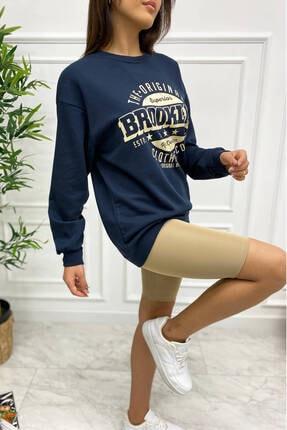 Eka 0939-0231 Broklyn Baskılı Şardonlu Sweatshirt 2
