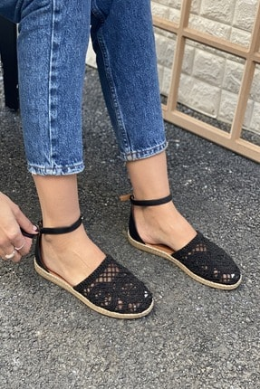 İnan Ayakkabı DANTEL DETAYLI TOKALI SANDALET 2