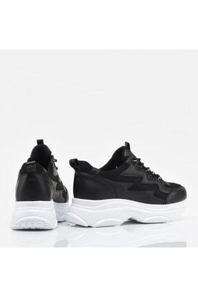 Hotiç Siyah Yaya Kadın Spor Ayakkabı 3