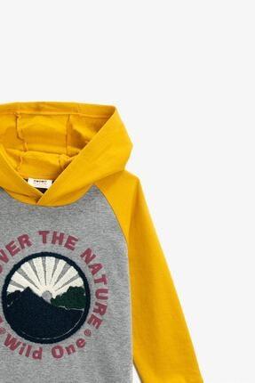 Koton Gri Erkek Çocuk Sweatshirt 2