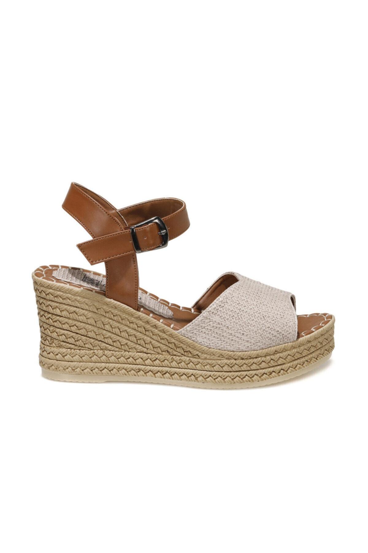 MELİSSA 1FX Bej Kadın Dolgu Topuklu Sandalet 101045555