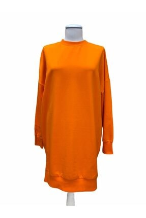 SOUL BY LOREEN FASHİON Kadın Düz Renk Rahat Kalıp Sweatshirt 0