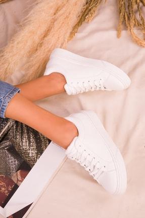Soho Exclusive Beyaz Kadın Sneaker 14395 3
