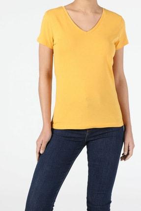 Colin's Sarı Kadın Kısa Kol Tişört 2