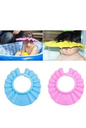 Zeki Karga 0-5 Yaş Çocuklar Için Düğmeli Su Kaçırmaz Bebek Banyo Duş Şapkası 1