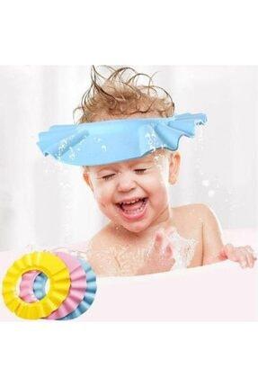 Zeki Karga 0-5 Yaş Çocuklar Için Düğmeli Su Kaçırmaz Bebek Banyo Duş Şapkası 4