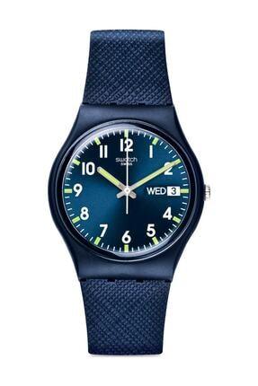 Swatch Unisex  Lacivert Kol Saati Gn718 0