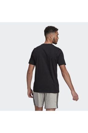 adidas Unisex Siyah  Lın Sj T T-shırts Gl0057 2