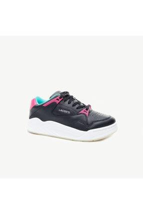 Lacoste Court Slam Kadın Siyah Spor Ayakkabı 0