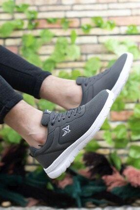 Riccon Füme Beyaz Unisex Sneaker 0012065 3