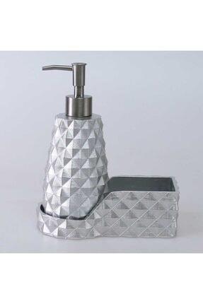 By Selim Gümüş Renkli Piramit Mutfak Sıvı Sabunluk 0