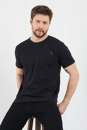 Enuygunenmoda Erkek Slim Fit Basic T-shirt 5'li 1
