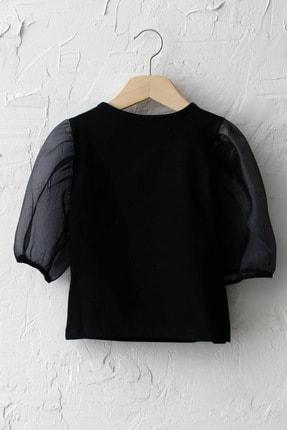LC Waikiki Kız Çocuk Yeni Siyah Cvl Bluz 1