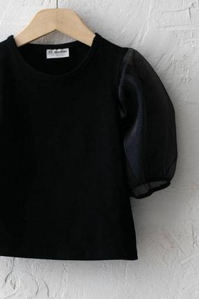 LC Waikiki Kız Çocuk Yeni Siyah Cvl Bluz 2