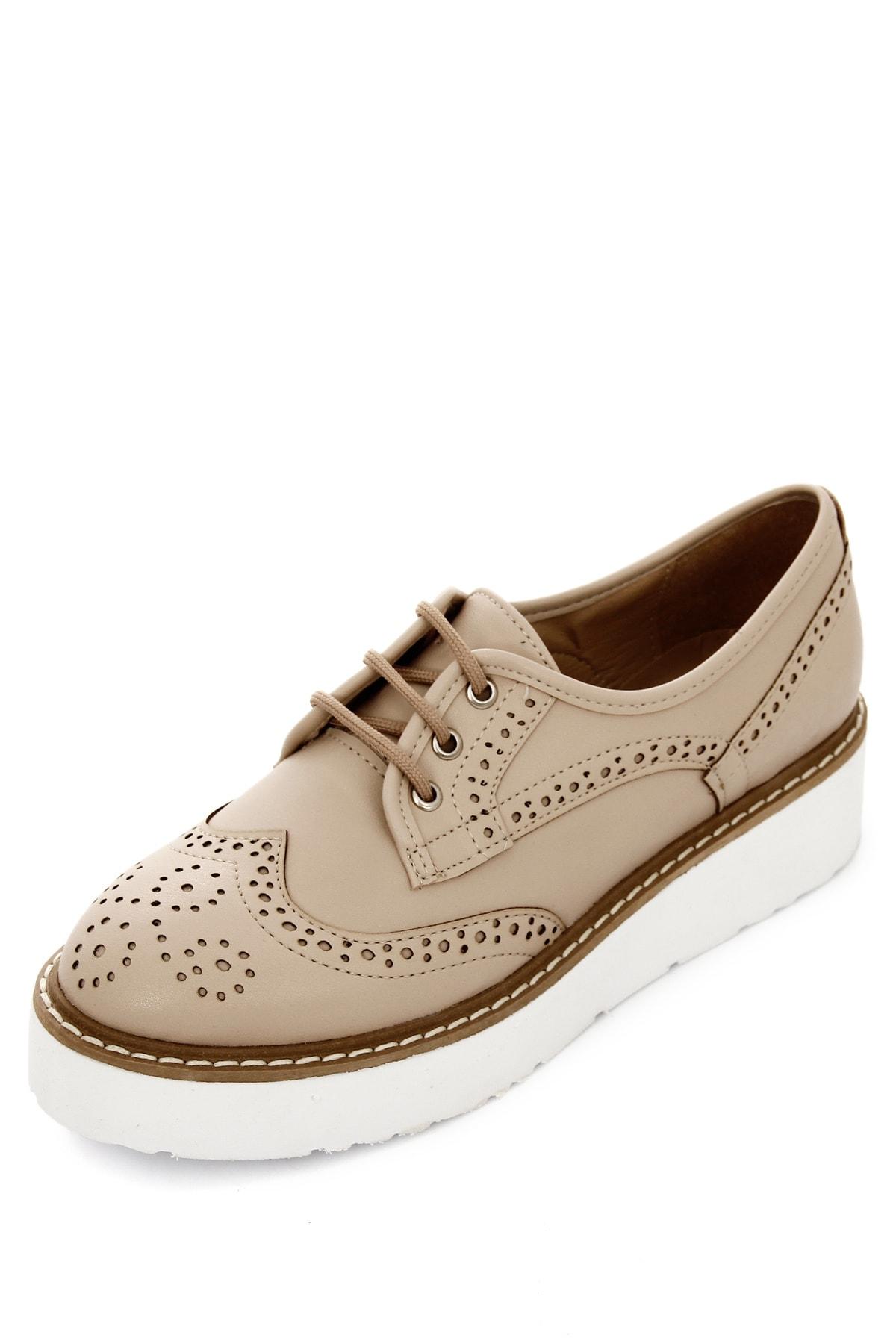 GÖNDERİ(R) Ten Kadın Günlük (Casual) Ayakkabı 38911 2