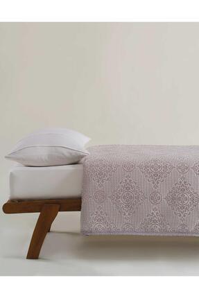 Elart Pamuklu Yatak Örtüsü Seti Çift Kişilik 4 Parça Laura Gümüş 2