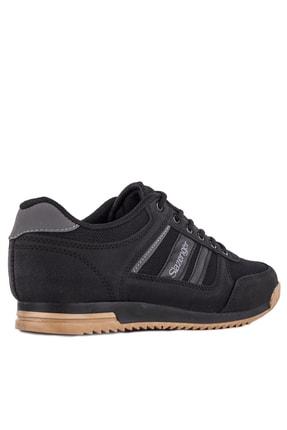 Slazenger ACTIVE Sneaker Erkek Ayakkabı Siyah / Siyah SA10LE021 2