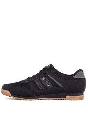 Slazenger ACTIVE Sneaker Erkek Ayakkabı Siyah / Siyah SA10LE021 3