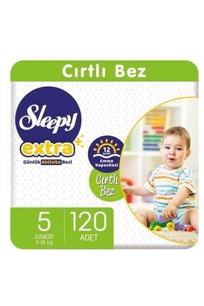 Sleepy Extra Günlük Aktivite Bezi 5 Numara Junior 120 Adet 0