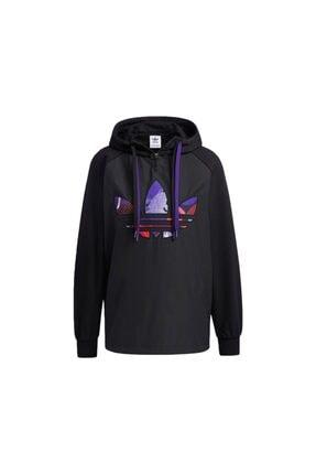 adidas Kadın Günlük Sweatshirts Gn4736 Siyah Cny Hoody 0
